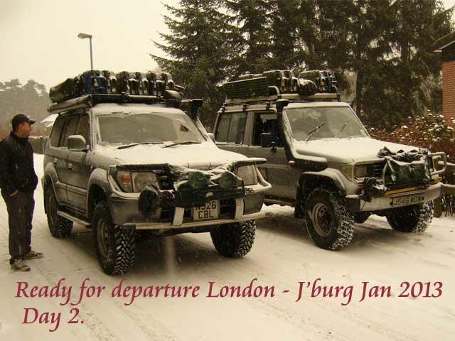 Snowy Belgium