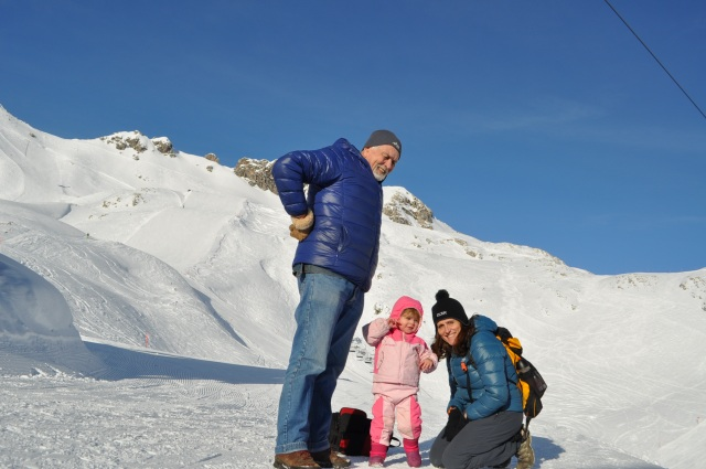 Family on the Nebelhorn, Obertsdorf