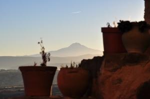 Sunset in Uchisar