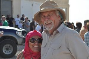 Sib and Pris, outside Petra