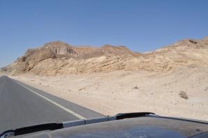 Traveling through the Sinai, Egypt