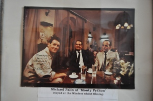 Michael Palin, visited the Windsor