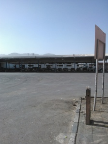 Nuweiba car processing pound