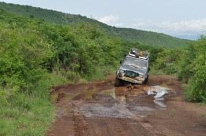 Sib's 4x4 on Nechisar National Park track