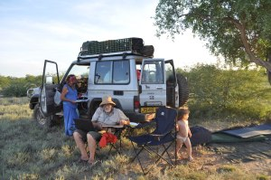 Bush camping Turkana