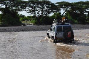 Sib's river crossing