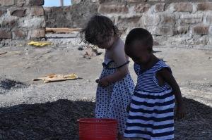 Lily and Malabo at Malabo lodge