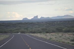 Driving into Samburu, 70kms north of Archers Post