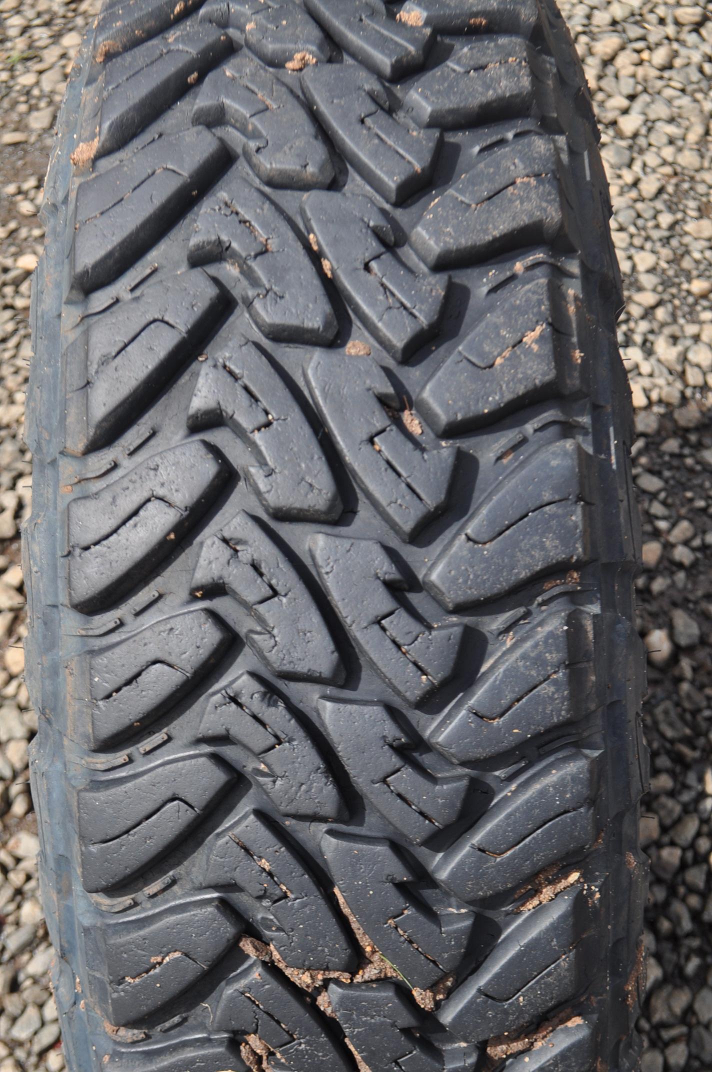 Toyo versus BFG MT tyres 255 85RT16