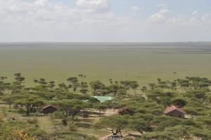 View to the north Serengeti