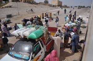 Aswan ferry goods