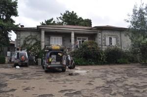 Arriving annes house Addis