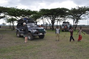 Bush camping a day before Arba Minch