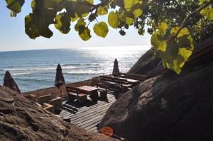 Safari Beach Lodge Bar looking the lake Malawi