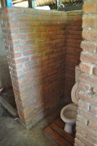 Rustic chalet toilets