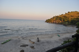 Makuzi Bay Resort Beach view