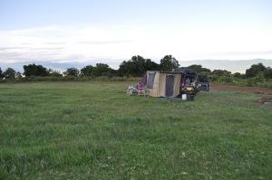 Simba camp in the Serengeti, Tanzania