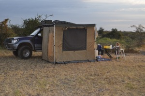 Bush camping Iringa, Tanzania