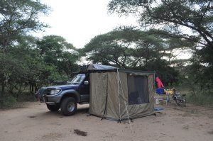 Bush camping Morogoro
