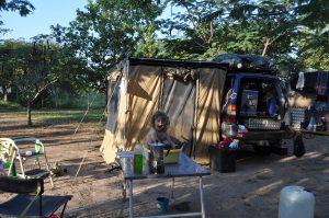 Campsite Tan Swiss outside Mikumi National Park