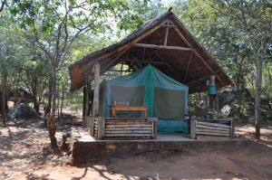 River valley tented camp
