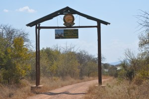Ruaha National Park Entrance