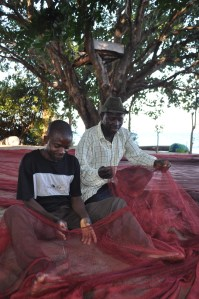 Social responsibility around fishing nets