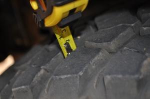 BFG MT Tread Blocks 10mm's of tread