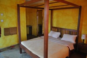 Bush Camp sleeping accommodation