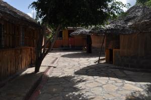 Bush Camp courtyard