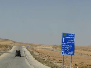 Terrains travelled, long roads