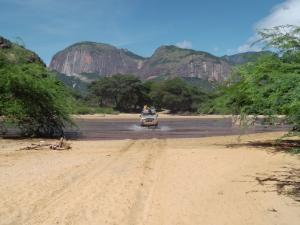 Kenya between South Horr laisamis