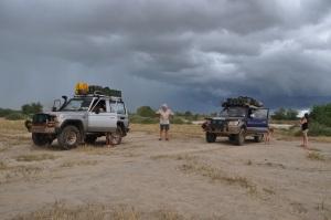 Driving near Turkana, beautiful