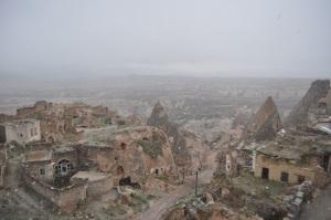 Cappadocia, now snowing