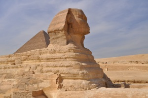 Sphinx, close up