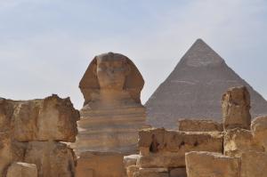 Sphinx and Pyramid Giza