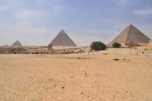 Three Pyramids, Giza