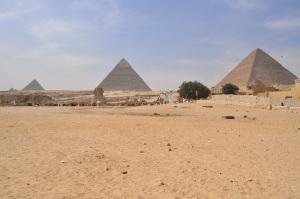 Three Pyramids, Giza